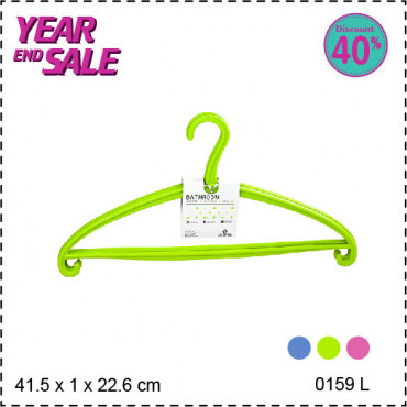 Claris CF Terry Hanger 0159-3 L - Green