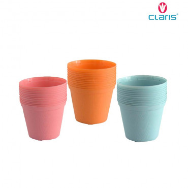 Claris Pot Bunga Bibit 6210 (12 Pcs)