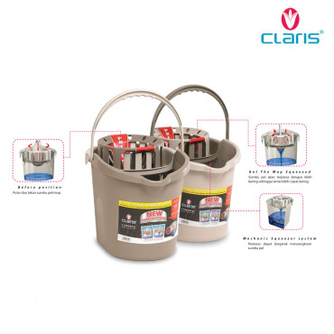 Powerpel Mop Bucket 3111